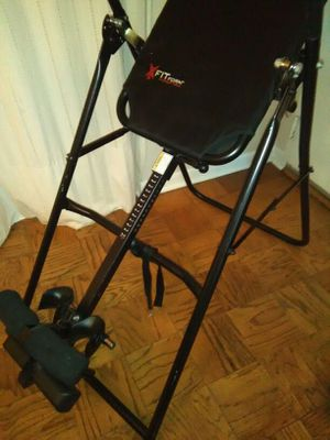 Fit form inversion table for back problems