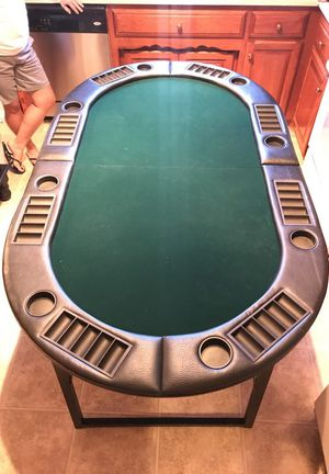 Spartan Sports 8 Player Poker Table