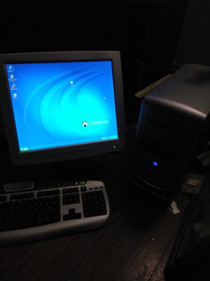 Gateway 3310S tower and mouse only