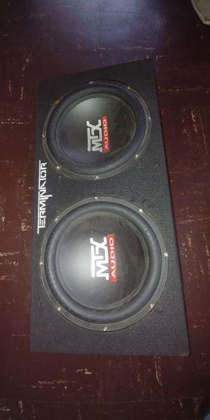 MTX AUDIO terminator 1000 watts