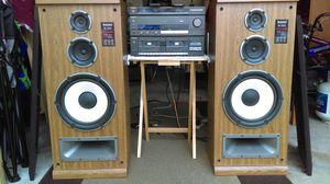 Technics Vintage SU-Z980 Integrated Amp, Tuner, Dual tape & SB-2840 Speakers