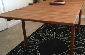 Mid Century Modern Teak Dining Table