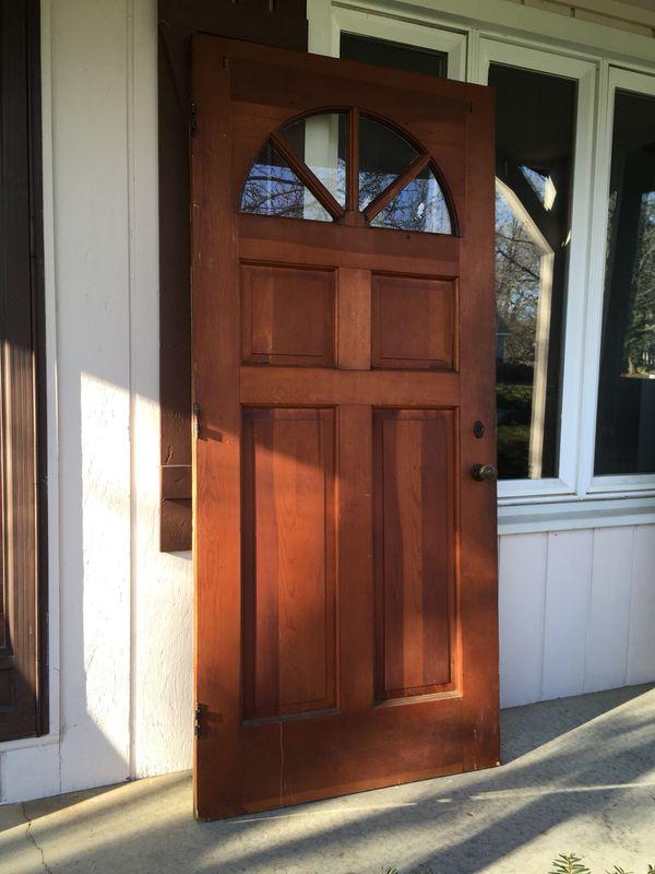 Beautiful Vintage 36 X 79 14 Exterior Door Home Garden In