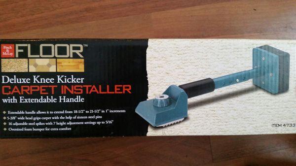 carpet knee kicker. knee kicker carpet installer