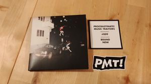 Brand New - Science Fiction CD + stickers ($ will be donated)