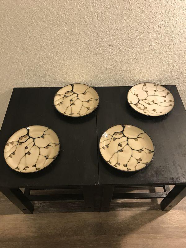A beautiful set. Mikasa \'Anissa\' 16 piece stoneware complete set ...