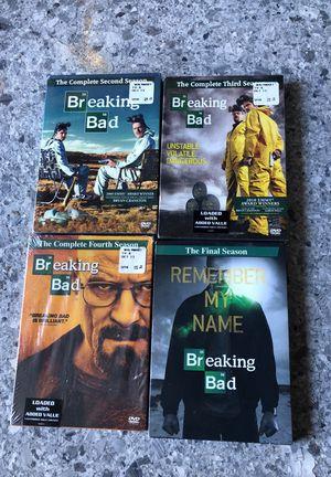 Breaking bad Seasons 2,3,4,Final. brand new sealed