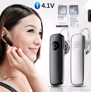 BRAND NEW!!!!! 1 PIECE BLUETOOTH HEADSET FOR ALL PHONE