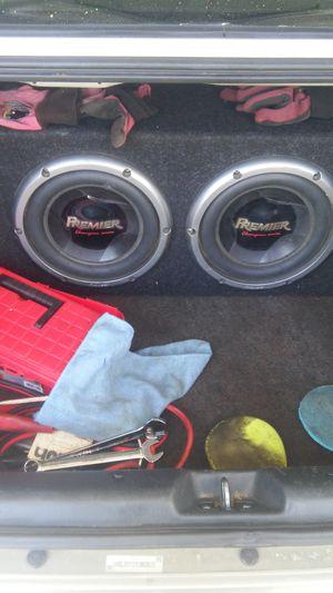 Pioneer speakers and amp