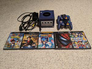 Nintendo GameCube + 2 Controllers + 5 Games