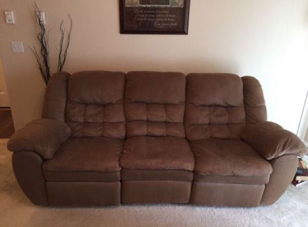 Moving must go reclining sofa from ashley furniture for Furniture in everett