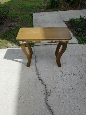 Small table!