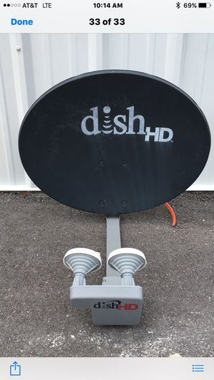 Dish HD Satellite Antenna