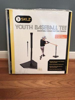 Brand New Youth Baseball Tee.