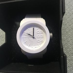 Diesel White Watch