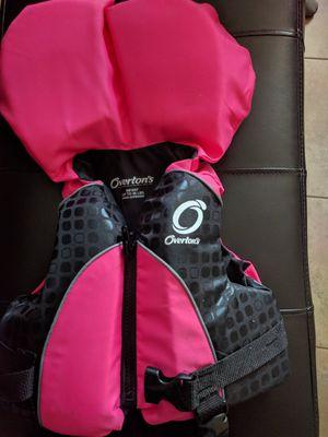 Hot pink infant life vest