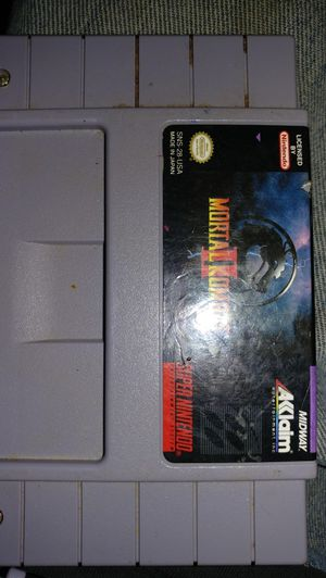 Mortal Kombat 2 for Super Nintendo