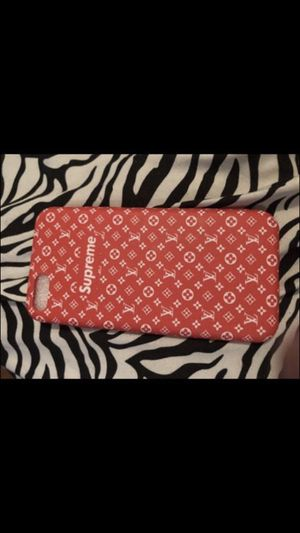 Supreme/lv case for iPhone 7 and 8 not for the pluse