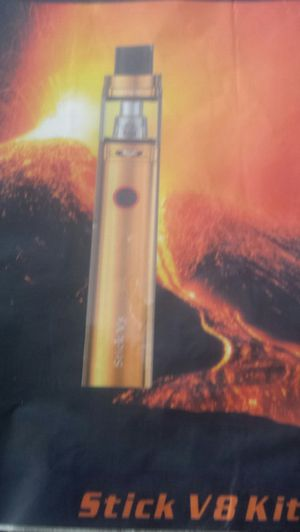 New flashlight style SMOK. Metallic Gold..new COMES WITH 5 NEW COILS