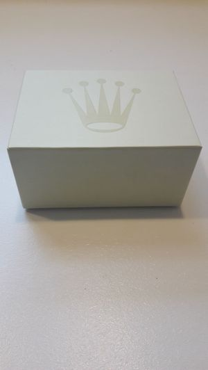 Rolex box with Rolex seal