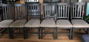 Dining table chairs 6