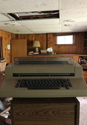 Electric type writer