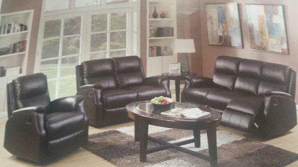 Bonded Leather living room (Furniture) in Woodbridge Township, NJ