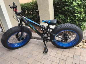 "20"" boys mongoose pug large tire bike"