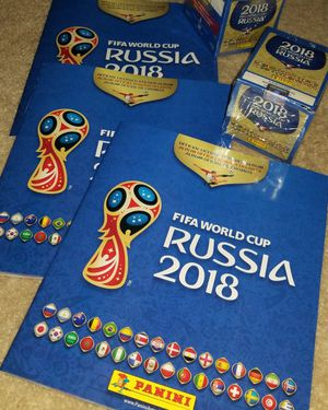Albums & Stickers (PANINI) - FIFA World Cup Russia 2018