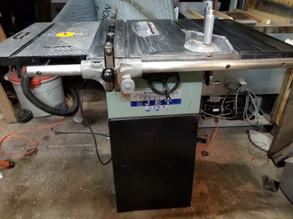 Jet 10 jts 10 table saw with built in wolfcraft router table and jet 10 jts 10 table saw with built in wolfcraft router table and free dado blades tools machinery in seattle wa greentooth Images