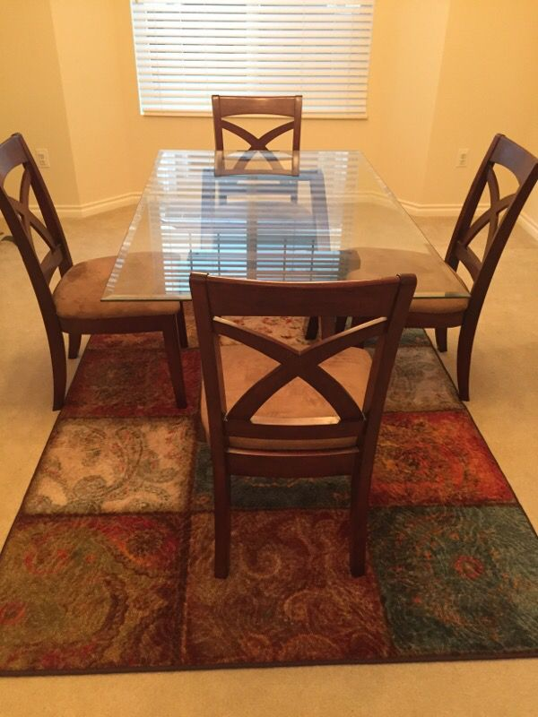 6 piece dining set excellent condition furniture in for Furniture auburn wa