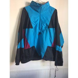 Vintage Nike Blue/Purple/Black Sz XL fitted