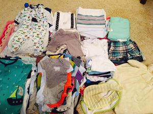 Large bundle of baby boy clothes 0-3 month
