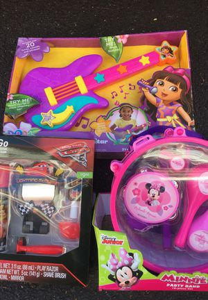 3 Brand New toys
