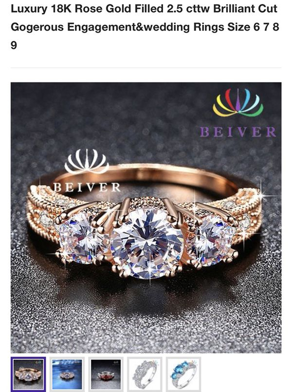 Brilliant and Gorgeous Engagement Wedding Ring