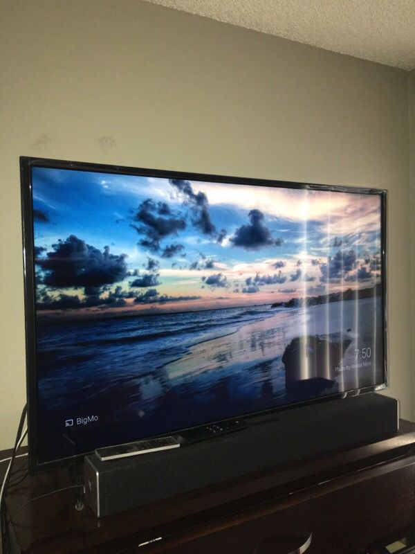 40 Inch Vizio ESeries HDTV With Sound Bar Electronics in Tempe