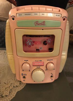 Barbie Cassette Player