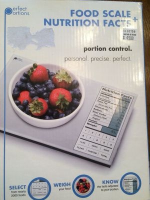 Food and Nutrition Scale New in Box