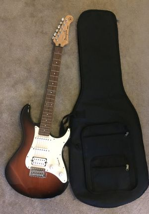 Yamaha Pacifica Electric Guitar (and travel case)