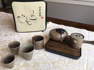 Ceramic Taiwanese Tea Set