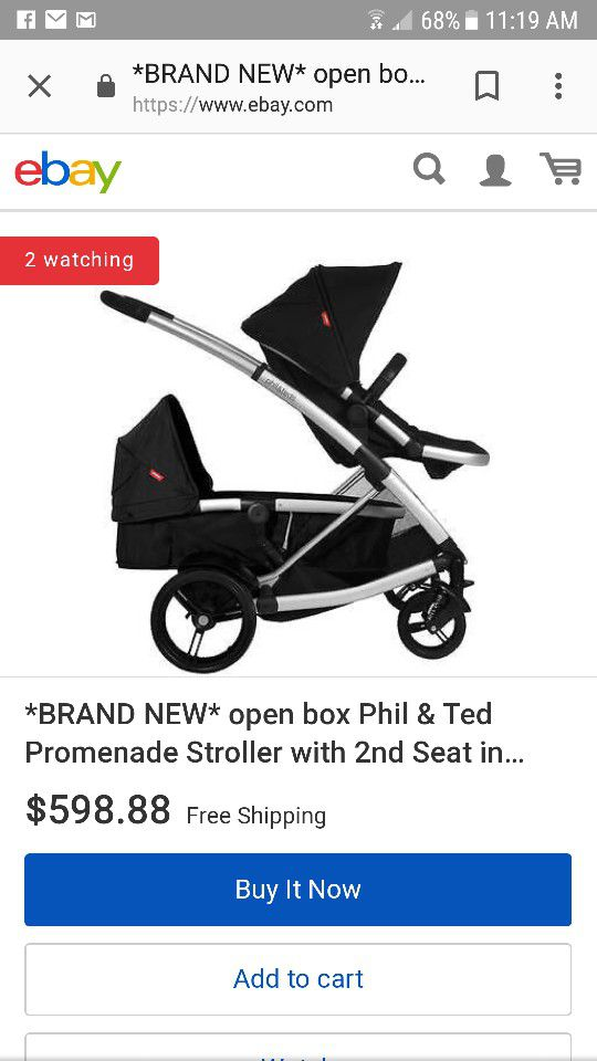 Phil and Ted\'s promenade double stroller (Baby & Kids) in Hillsboro ...