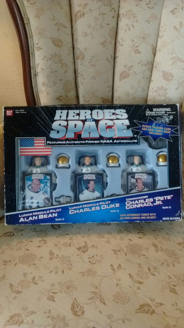 Rare Heroes Of Space Nasa Action Figure Games Toys In