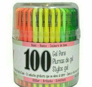 100ct Premium Gel Pens