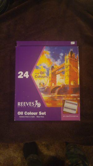 24 Fine Oil Colour Set