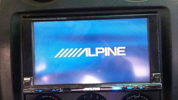 100$ Alpine double din touchscreen (Audio Equipment) in ...