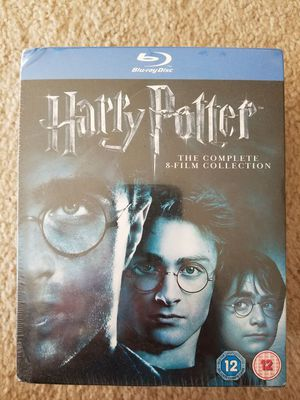 Harry Potter 8 film set (bluRay) unopened