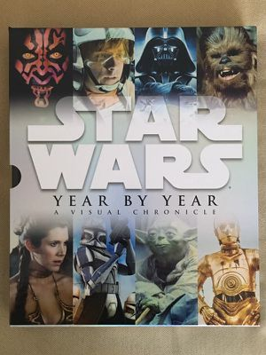 Huge Hardcover Ultimate Star Wars Book (With Poster)