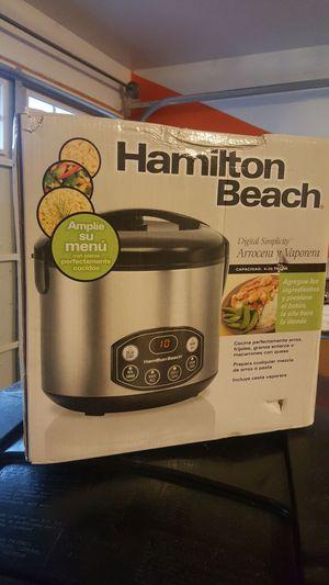 Hamilton Beach slow cooker, steamer, rice cooker