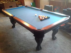 Like new Olhausen pool table claw foot, used for sale  Sapulpa, OK