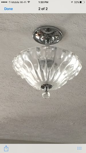 Beautiful crystal lamp